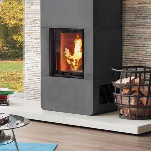 stove fireplace