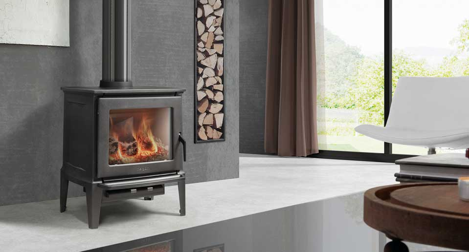 wood burning fireplace designs